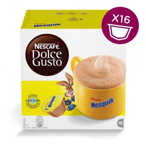 dolce Кофе капсульный DOLCE GUSTO Nesquik, капсулы, совместимые с кофемашинами DOLCE GUSTO®, крепость 16 шт [12291044]