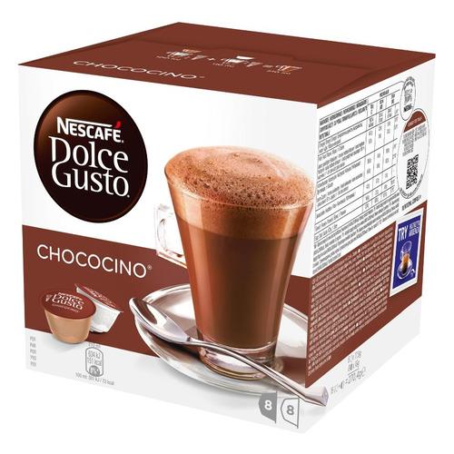 Кофе капсульный DOLCE GUSTO Chococino, капсулы, совместимые с кофемашинами DOLCE GUSTO®, 256грамм [12312139] цена
