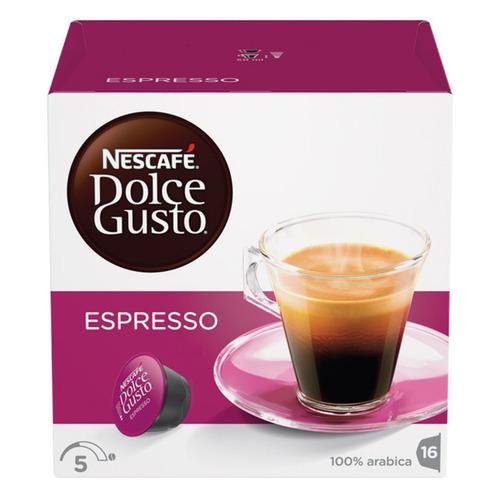 лучшая цена Кофе капсульный DOLCE GUSTO Espresso, капсулы, совместимые с кофемашинами DOLCE GUSTO®, 96грамм [5219839]