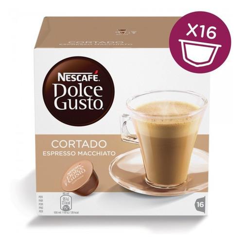 Кофе капсульный DOLCE GUSTO Cortado, капсулы, совместимые с кофемашинами DOLCE GUSTO®, 100.8грамм [12121894] цена