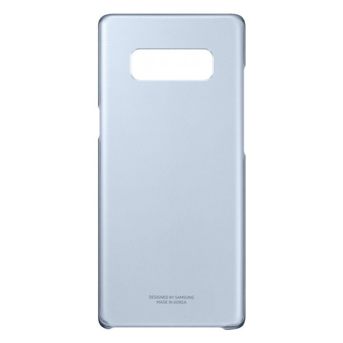 Чехол (клип-кейс) SAMSUNG Clear Cover Great, для Samsung Galaxy Note 8, темно-синий [ef-qn950cnegru] belsis чехол панель для samsung galaxy note 4 soft touch темно синий
