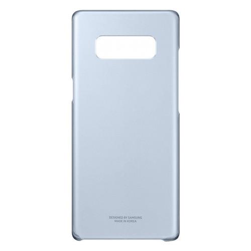 Чехол (клип-кейс) SAMSUNG Clear Cover Great, для Samsung Galaxy Note 8, темно-синий [ef-qn950cnegru] цена и фото