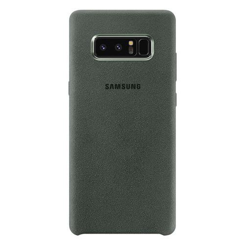 Чехол (клип-кейс) SAMSUNG Alcantara Cover Great, для Samsung Galaxy Note 8, хаки [ef-xn950akegru] цена и фото