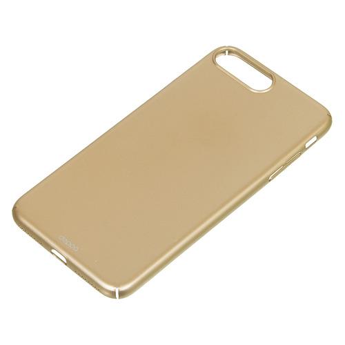 Чехол (клип-кейс) DEPPA Gel Plus Case, для Apple iPhone X, черный [85336] DEPPA