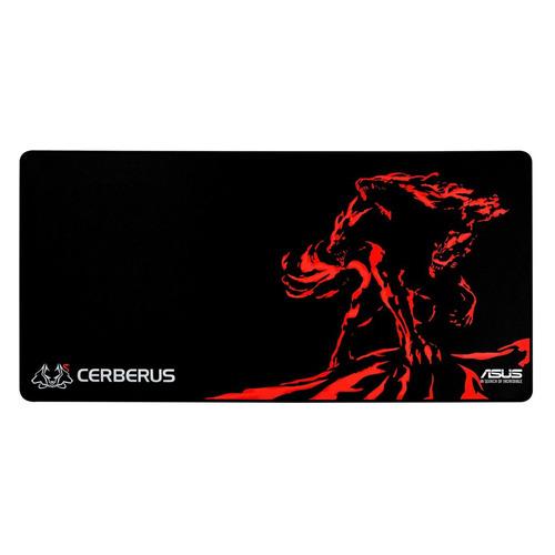 Коврик для мыши ASUS CERBERUS MAT XXL, черный/красный