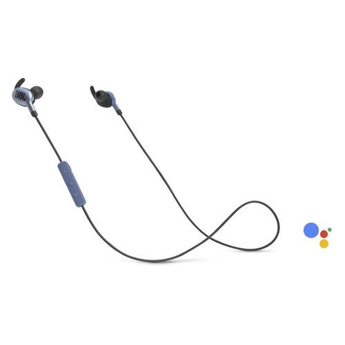 Наушники с микрофоном JBL Everest 110GA, Bluetooth, вкладыши, синий [jblv110gabtblu]