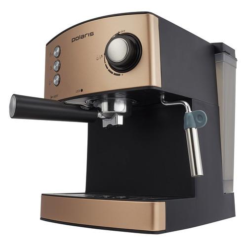Кофеварка POLARIS PCM 1527E Adore Crema, эспрессо, бронзовый / черный PCM 1527E Adore Crema по цене 8 499