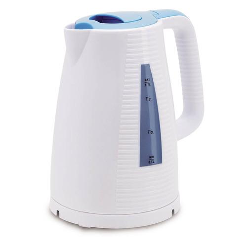 все цены на Чайник электрический POLARIS PWK 1743C, 2200Вт, голубой и белый онлайн