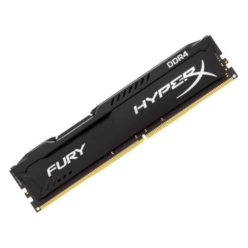 Модуль памяти KINGSTON HyperX FURY HX424C15FB/4 DDR4 - 4Гб 2400, DIMM, Ret dimm ddr4 4гб kingston kvr24n17s6 4