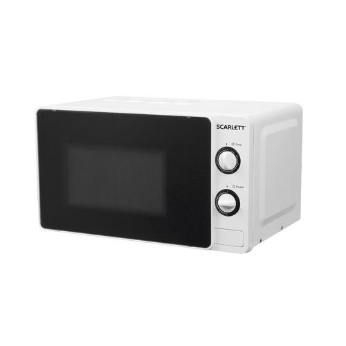 Микроволновая Печь Scarlett SC-MW9020S02M 20л. 700Вт белый микроволновая печь scarlett sc mw9020s02m