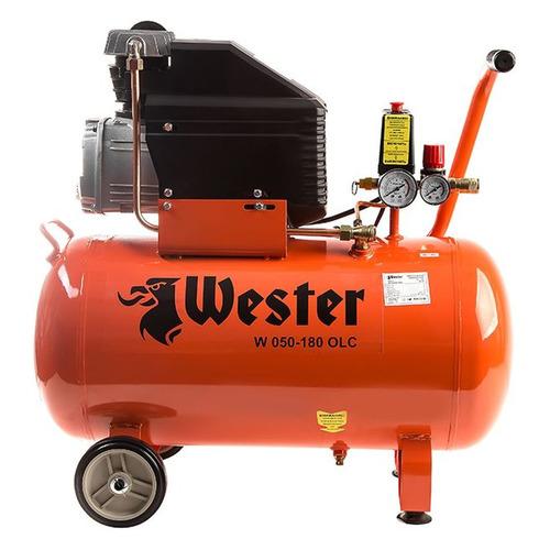 Компрессор поршневой WESTER W 050--180 OLC масляный [348517] цена и фото