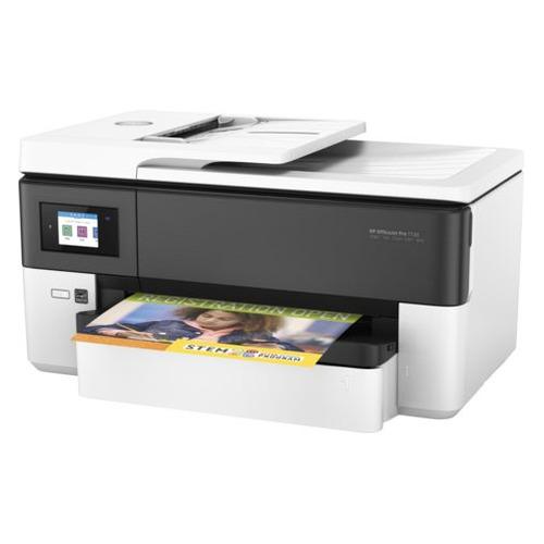 Фото - МФУ струйный HP Officejet Pro 7720, A3, цветной, струйный, белый [y0s18a] мфу струйный brother mfc j3930dw a3 цветной струйный черный [mfcj3930dwr1]