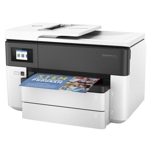 Фото - МФУ струйный HP Officejet Pro 7730, A3, цветной, струйный, белый [y0s19a] мфу струйный brother mfc j3930dw a3 цветной струйный черный [mfcj3930dwr1]