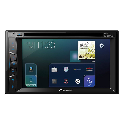 Автомагнитола PIONEER AVH-Z1000DVD, USB house fit hg 2016