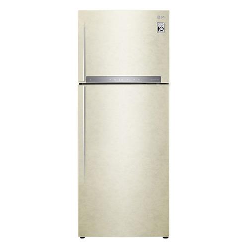 Холодильник LG GC-H502HEHZ, двухкамерный, бежевый все цены