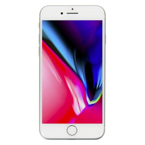 Смартфон APPLE iPhone 8 64Gb, MQ6H2RU/A, серебристый подставка just mobile hoverdock st 368 для apple watch алюминий серебристый