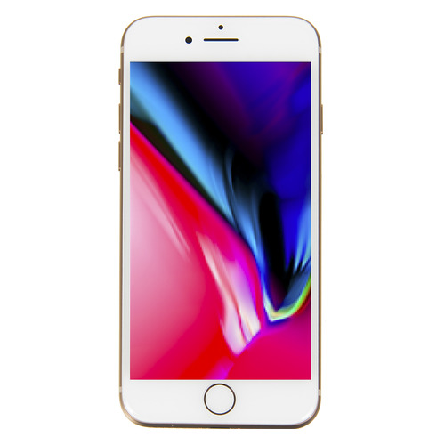 Смартфон APPLE iPhone 8 64Gb, MQ6J2RU/A, золотистый