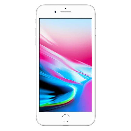 Смартфон APPLE iPhone 8 Plus 64Gb, MQ8M2RU/A, серебристый