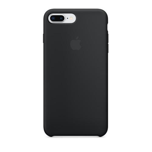 цена на Чехол (клип-кейс) APPLE Silicone Case, для Apple iPhone 7 Plus/8 Plus, черный [mqgw2zm/a]