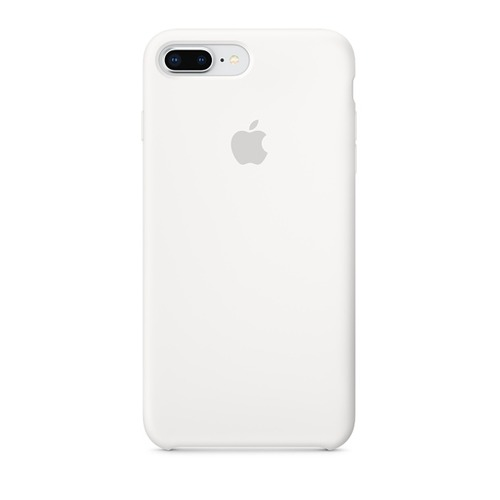 Чехол (клип-кейс) APPLE Silicone Case, для Apple iPhone 7 Plus/8 Plus, белый [mqgx2zm/a] цена и фото