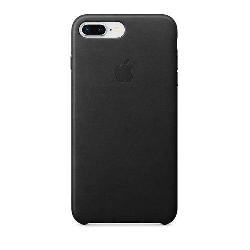 цена на Чехол (клип-кейс) APPLE Leather Case, для Apple iPhone 7 Plus/8 Plus, черный [mqhm2zm/a]