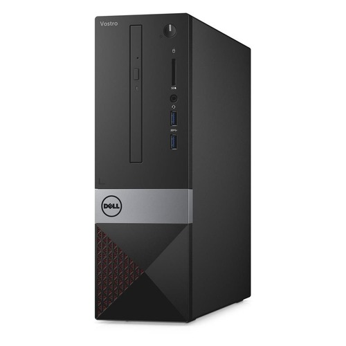 Компьютер DELL Vostro 3268, Intel Core i5 7400, DDR4 4Гб, 1000Гб,  HD Graphics 630, DVD-RW, CR, Linux, черный [-4841]