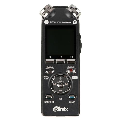 Диктофон RITMIX RR-989 8 Gb, черный