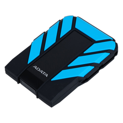Фото - Внешний диск HDD A-DATA DashDrive Durable HD710Pro, 2ТБ, голубой [ahd710p-2tu31-cbl] внешний жесткий диск a data dashdrive durable hd720 2тб черный [ahd720 2tu31 cbk]