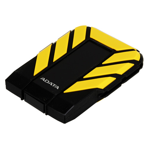 Фото - Внешний диск HDD A-DATA DashDrive Durable HD710Pro, 2ТБ, черный/желтый [ahd710p-2tu31-cyl] внешний жесткий диск a data dashdrive durable hd720 2тб черный [ahd720 2tu31 cbk]