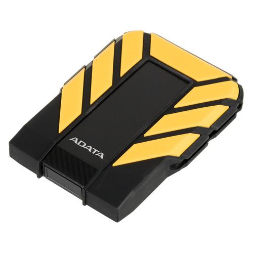 Фото - Внешний жесткий диск A-DATA DashDrive Durable HD710Pro, 1Тб, черный/желтый [ahd710p-1tu31-cyl] внешний аккумулятор power bank 13000 мач buro ra 13000 qc3 0 черный