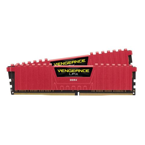 Модуль памяти CORSAIR Vengeance LPX CMK32GX4M2B3200C16R DDR4 - 2x 16Гб 3200, DIMM, Ret цена и фото
