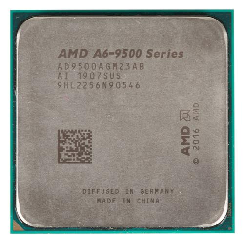 Процессор AMD A6 9500, SocketAM4, OEM [ad9500agm23ab] процессор amd a6 9400 socketam4 oem [ad9400agm23ab]