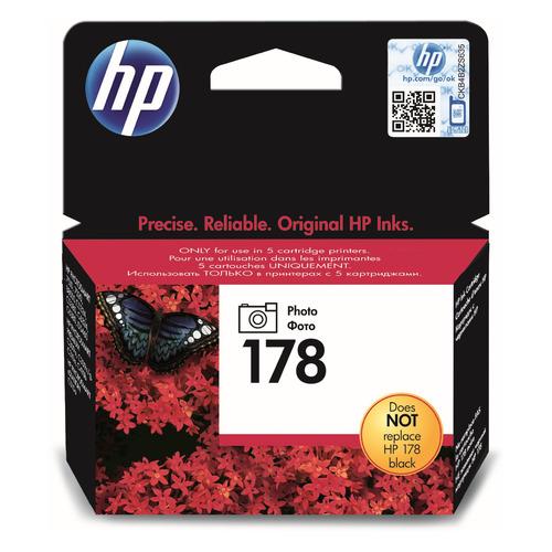 Картридж HP 178, фото черный [cb317he]