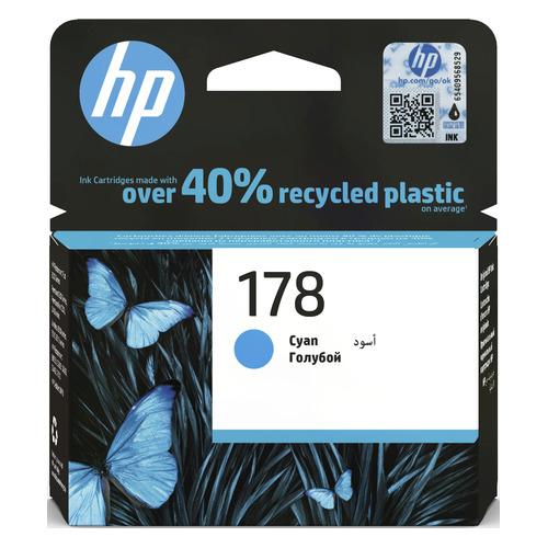 Картридж HP 178, голубой [cb318he] цена 2017