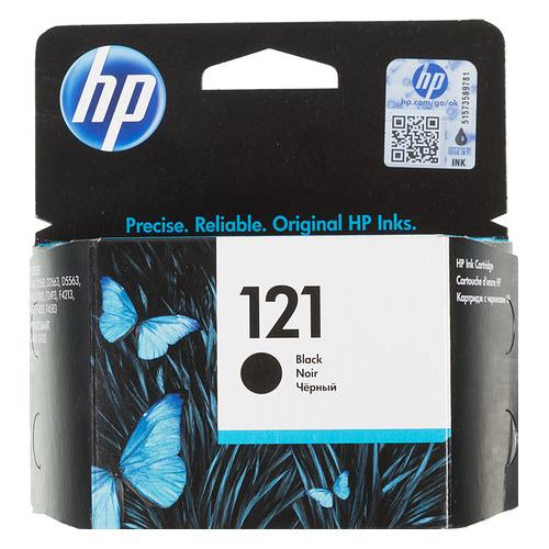 Картридж HP 121, черный [cc640he] цена 2017