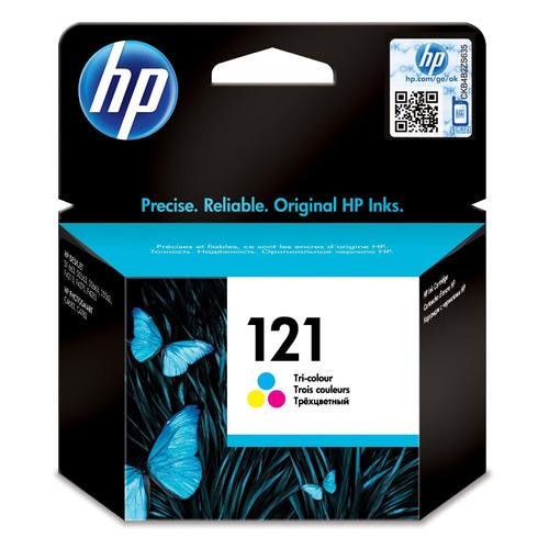 Картридж HP 121, многоцветный / CC643HE