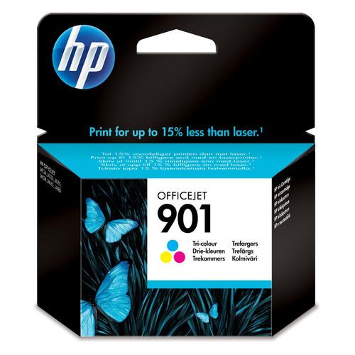 Картридж HP 901, многоцветный [cc656ae] картридж hp cc654ae 901xl black для j4580 4660