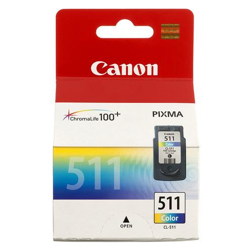 Картридж CANON CL-511, многоцветный [2972b007] стоимость