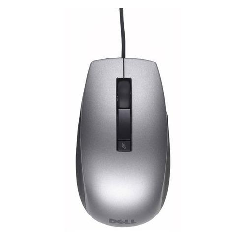 лучшая цена Мышь DELL Laser 6-Button, лазерная, проводная, USB, серебристый [570-11349]