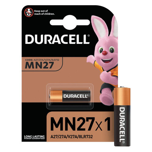 A27 Батарейка DURACELL MN27, 1 шт. цена