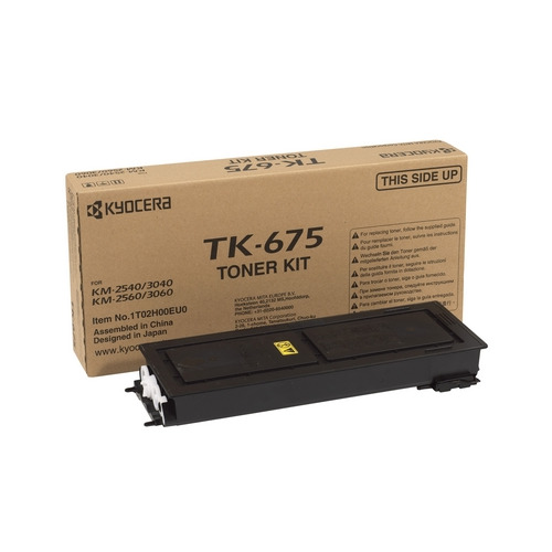 Картридж KYOCERA TK-675, черный wholesale high quality original color copier opc drum compatible for kyocera km1635 2035 2550 2540 2560 3040 3060