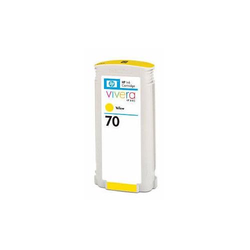 Картридж HP 70, желтый / C9454A