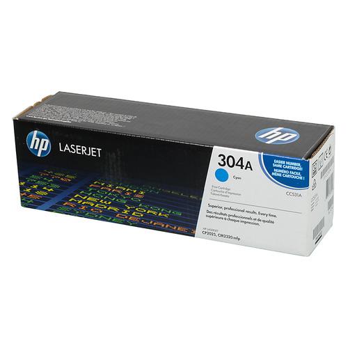 Картридж HP 304A, голубой [cc531a] toner cartridge cc530a cc531a cc532a cc533a for hp color laserjet cm2320 cp2025