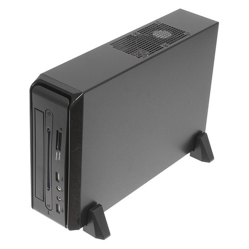 Корпус miniITX LINKWORLD LC-820-01B LW1-65W, HTPC, 65Вт, черный realan htpc computer case with power supply e w60