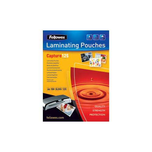 Пленка для ламинирования Fellowes CRC-53069, 125мкм, 75х105 мм, 100шт., глянцевая, A7