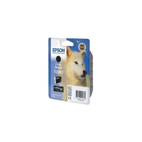 Картридж EPSON T0961, черный [c13t09614010] цена и фото