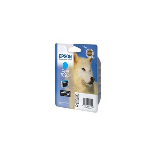 Картридж EPSON T0962, голубой [c13t09624010] цена и фото
