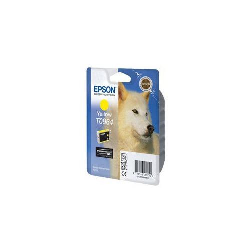 Картридж EPSON T0964, желтый [c13t09644010] цена и фото