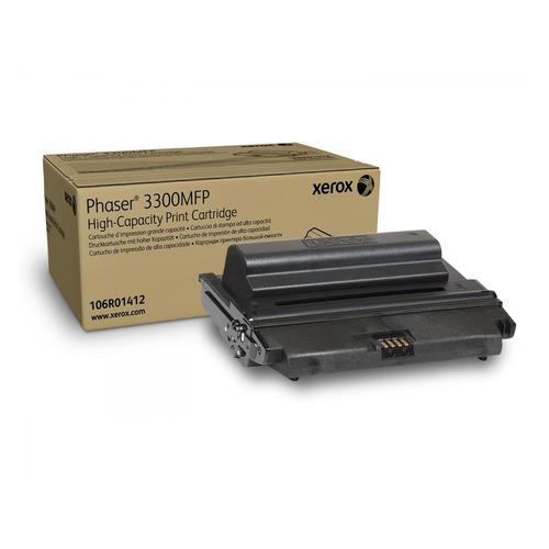 Картридж XEROX 106R01412, черный картридж easyprint lx 3300 для xerox phaser 3300mfp чёрный 8000 страниц с чипом 106r01412