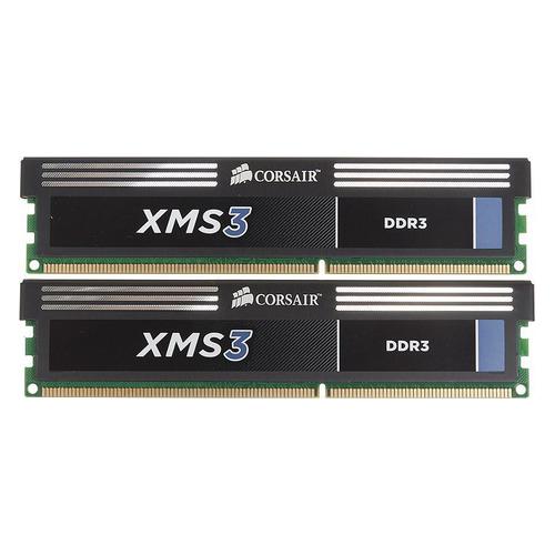 Модуль памяти CORSAIR XMS3 CMX4GX3M2A1600C9 DDR3 - 2x 2ГБ 1600, DIMM, Ret CMX4GX3M2A1600C9 по цене 2 790